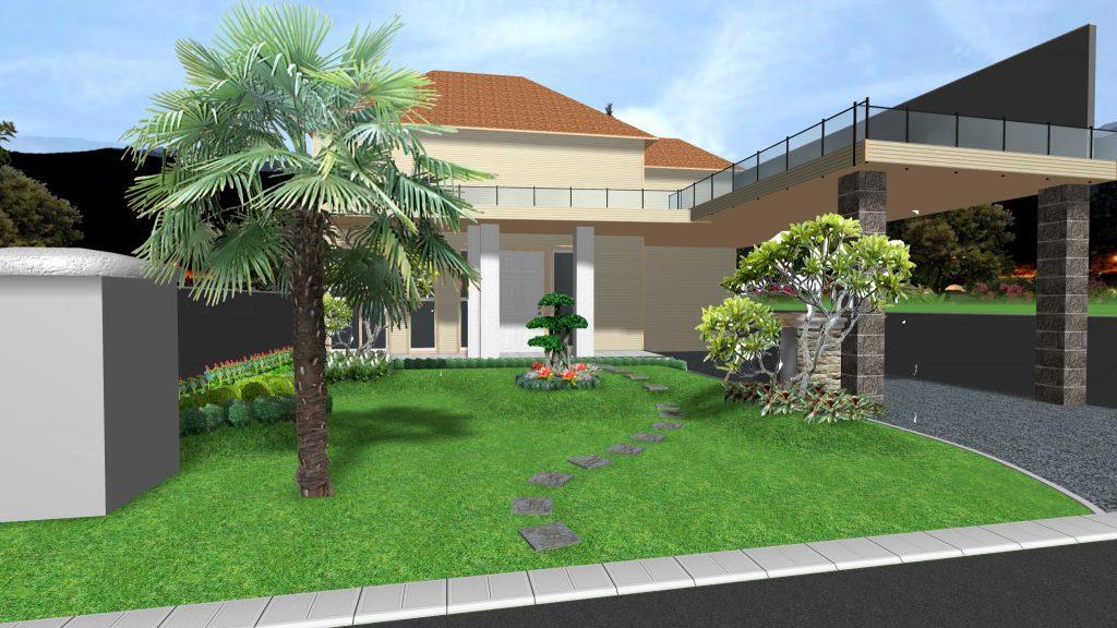 Desain Taman 3D Program Gratis – Tukang Taman Tropis